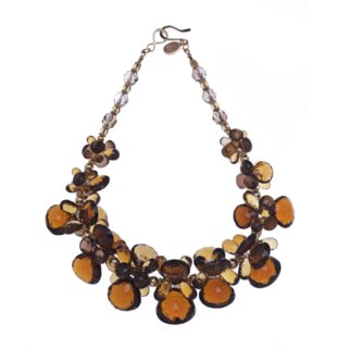 cognac necklace